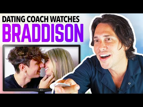 Dating Coach Reacts to ADDISON RAE and BRYCE HALL