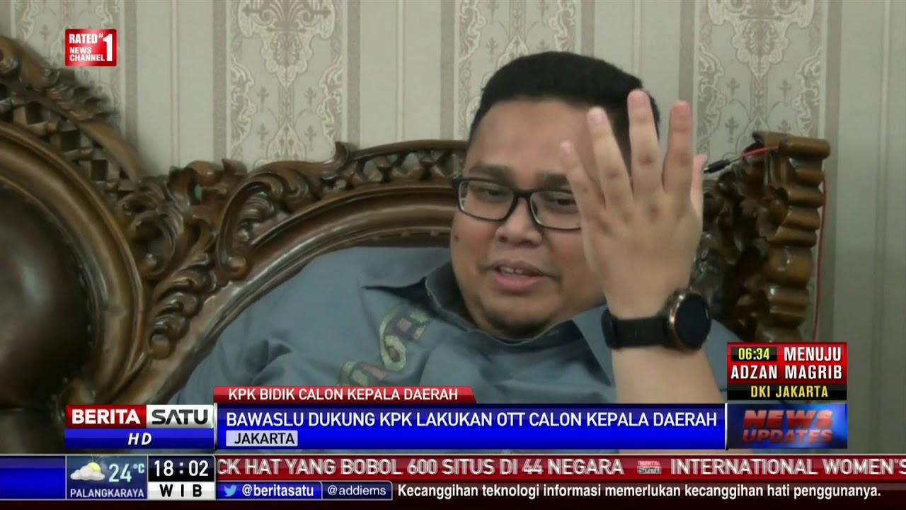 Ott Kpk Photo: Bawaslu Dukung OTT KPK Terhadap Calon Kepala Daerah