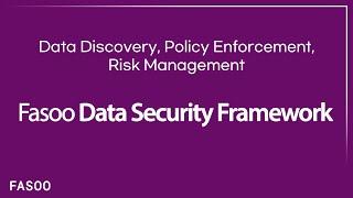 Prevent Data Breaches by Adopting Fasoo Data Security Framework