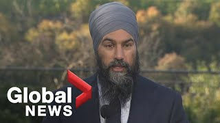 Canada Election: Singh outlines 6 'urgent' priorities for NDP government