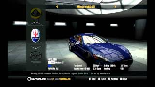 Need For Speed SHIFT 2 Unleashed All cars in game!