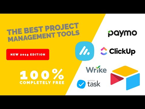 Top 5 FREE Project Management/Productivity Apps | NEW For 2019 -20