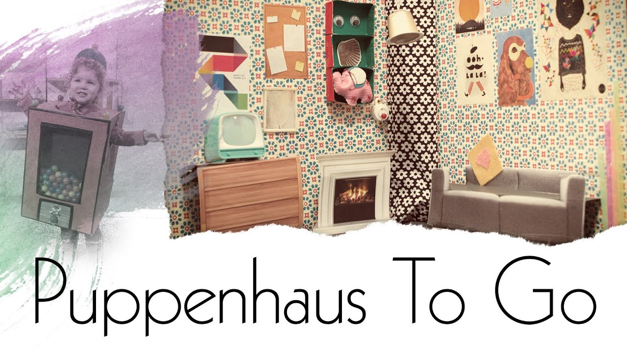 puppenhaus im aktenordner handmade youtube. Black Bedroom Furniture Sets. Home Design Ideas