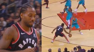 Kawhi Leonard Turns The Game Into Practice and Destroys Hornets! Raptors vs Hornets