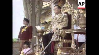 THAILAND: COUNTRY MARKS GOLDEN JUBILEE OF KING BHUMIBOL ADULYADEJ (1)