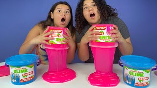 FIX THIS 5 POUND BUCKET OF STORE BOUGHT SLIME CHALLENGE!!