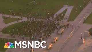 Pentagon Not Clear On Trump Threat To Use Military On Americans | Rachel Maddow | MSNBC