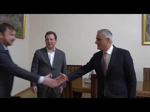 Փոխվարչապետ Մհեր Գրիգորյանն ընդունել է «AliExpress Ռուսաստան» կազմակերպության ղեկավարներին