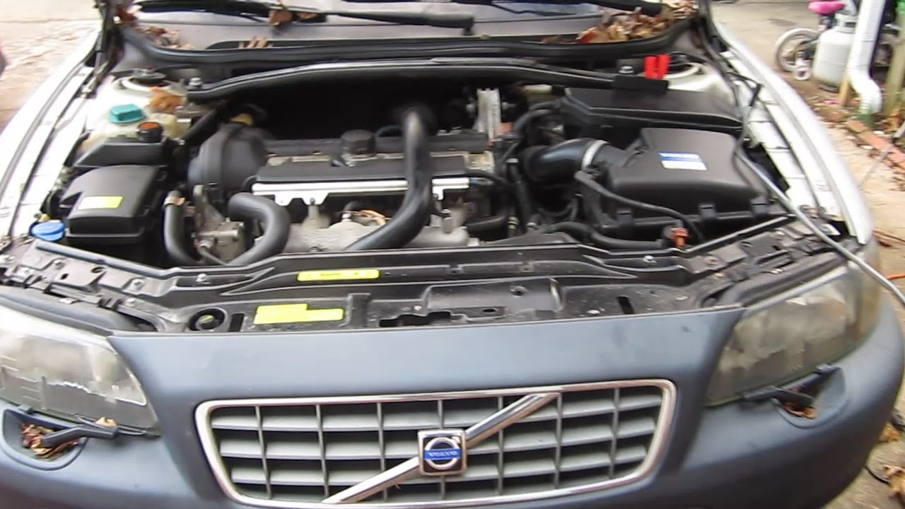 where is the battery? volvo cross country xc70 youtube