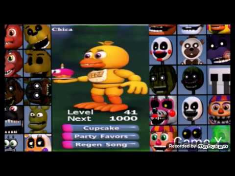 All fnaf world charters