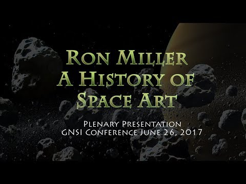 Ron Miller: A History of Space Art