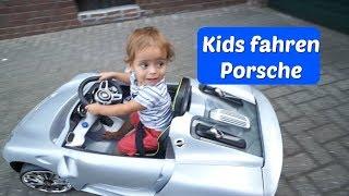 Carlos und Lamiya fahren Porsche - Familien Alltag - Vlog#1014 Rosislife