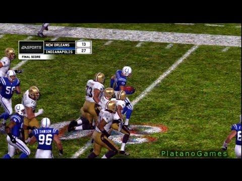 NFL 2009 Super Bowl XLIV - New Orleans Saints vs Indianapolis Colts - 4th Qrt - Madden
