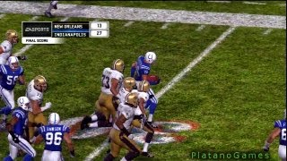 NFL 2009 Super Bowl XLIV - New Orleans Saints vs Indianapolis Colts - 4th Qrt - Madden
