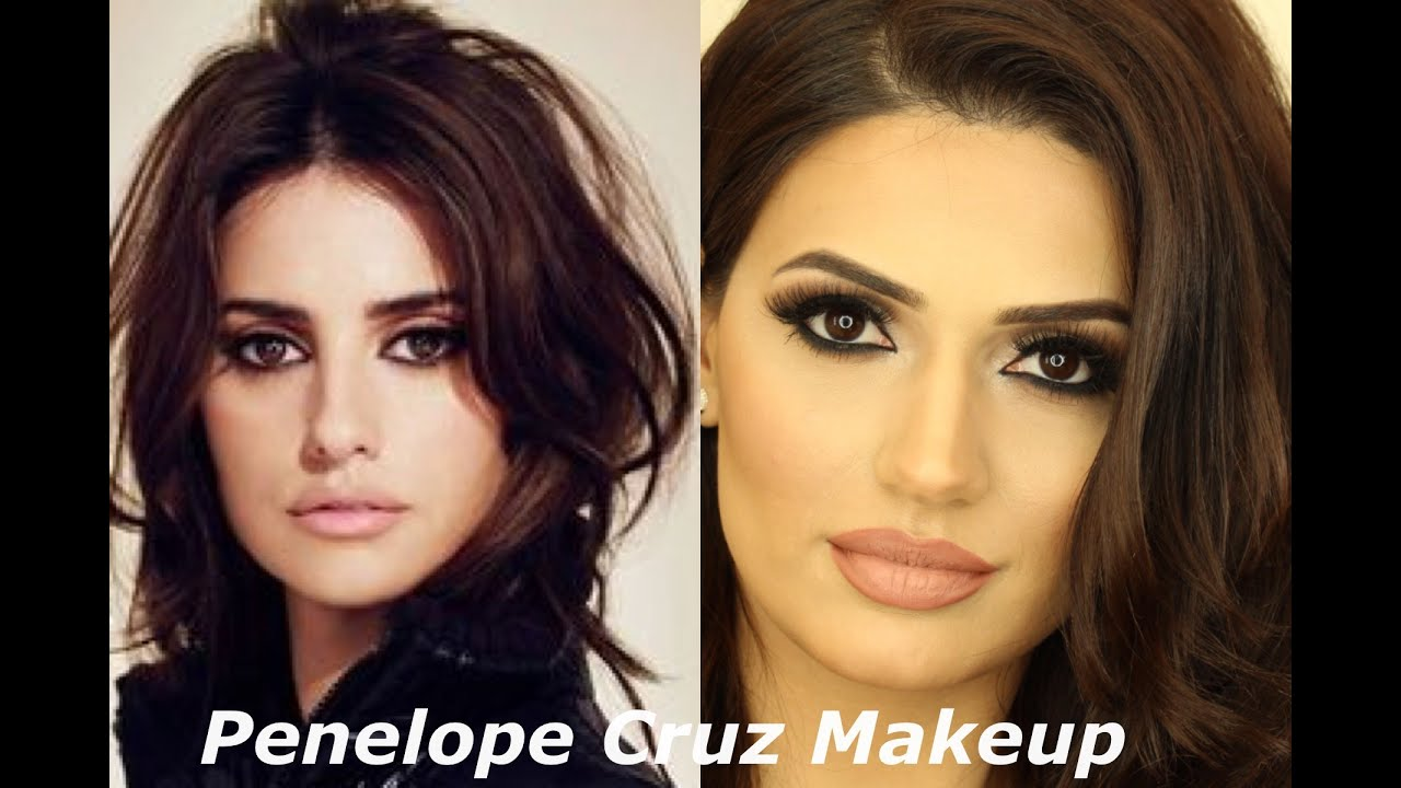 Penelope Cruz Inspired Makeup Tutorial By Makeup By Ani Youtube
