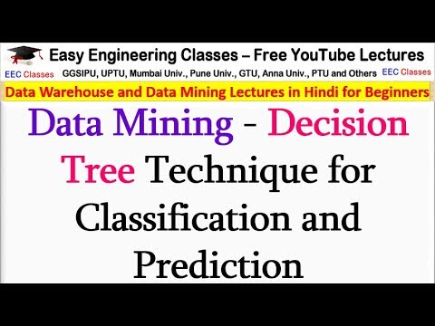 Data Mining - Decision Tree Technique For Classification And Prediction