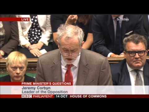 Tories Laughing at Jeremy Corbyn's Question during PMQs about someone struggling under tory cuts.