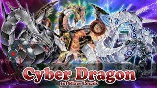 Cyber Dragon 1st Place Locals Deck Profile - April 2019