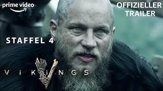 Vikings Staffel 4   Offizieller Trailer   PRIME Video