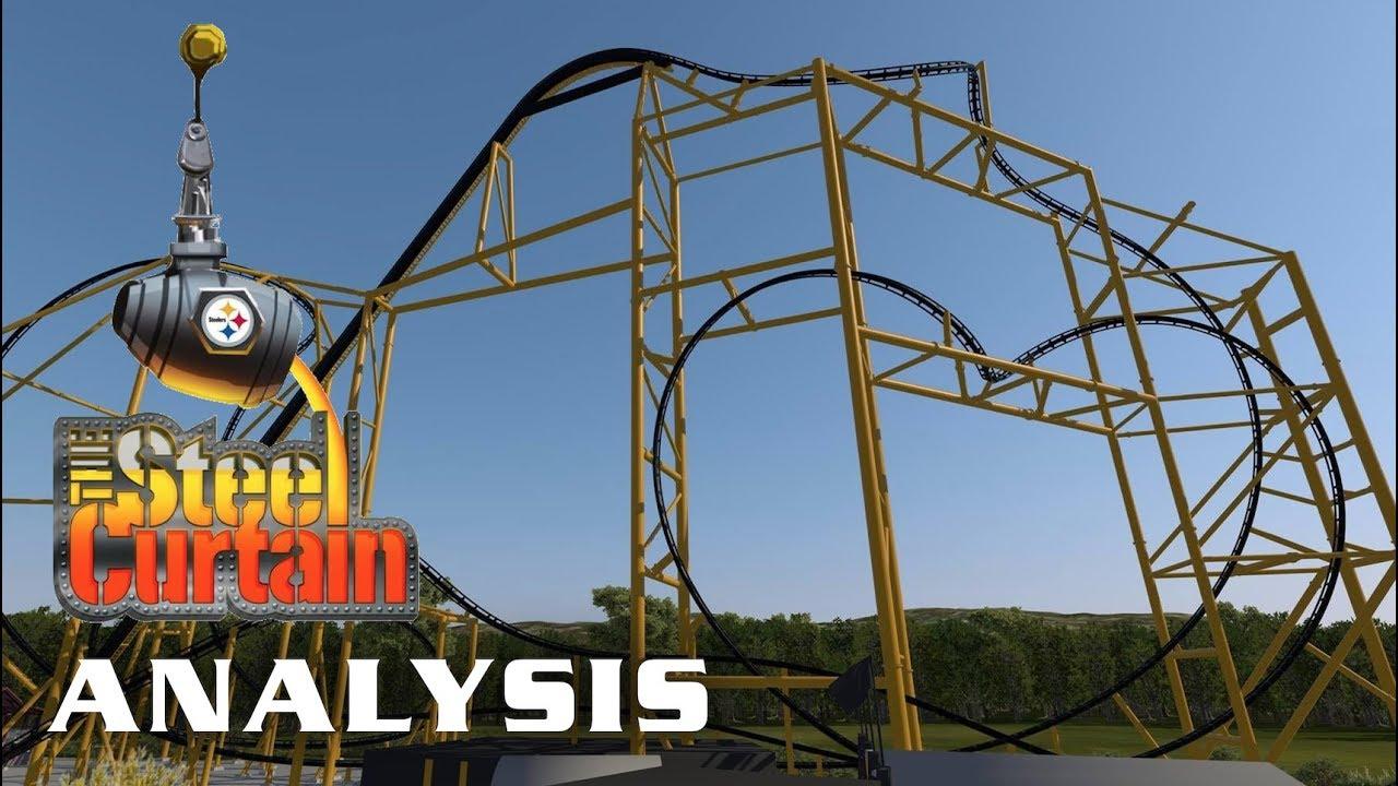 Steel Curtain Analysis Kennywood 2019 Roller Coaster