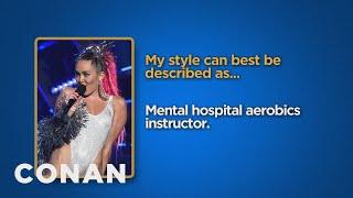 Celebrity Survey: Miley Cyrus, Bernie Sanders Edition  - CONAN on TBS