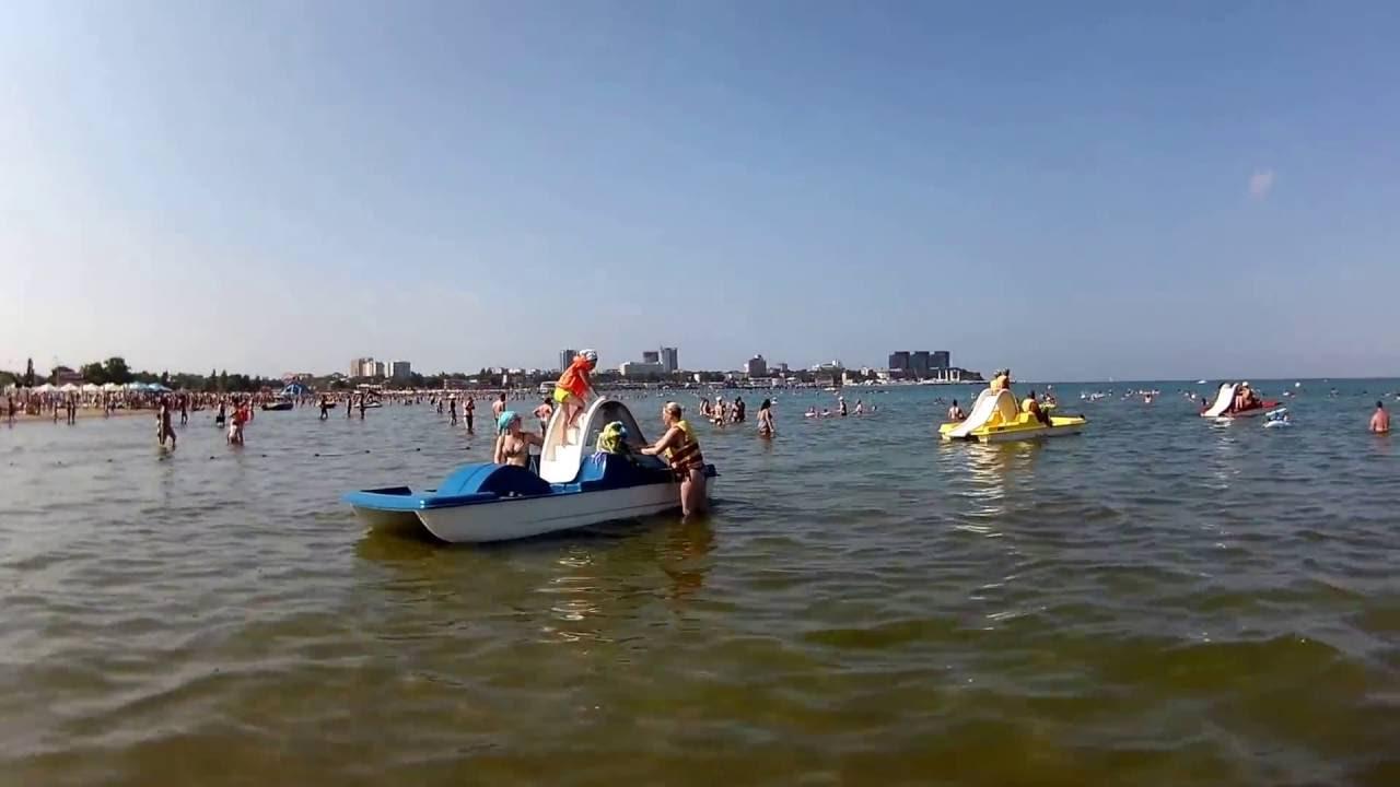 Чёрное море  анапа пляж