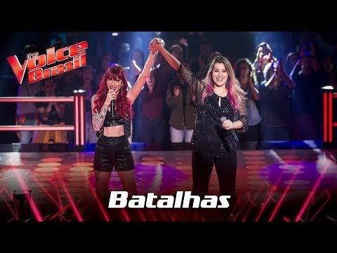 Dri e Isa Guerra cantam Fucking Perfect nas Batalhas - The Voice Brasil  7ª Temporada
