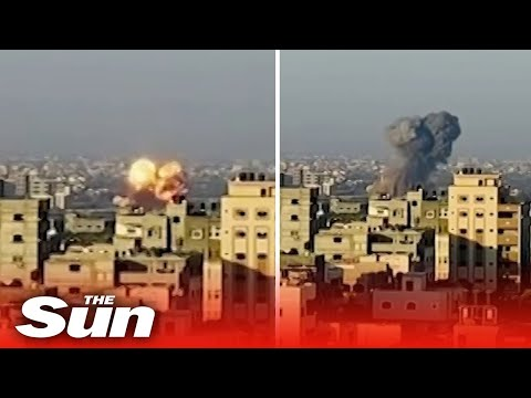 Israel strikes Hamas in Gaza in retaliation to attacks
