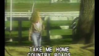 take me home country road- john denver ( karaoke videoke ).mpg