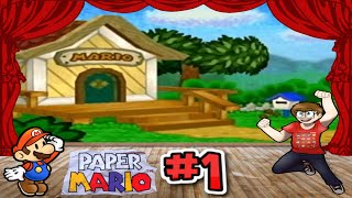 Paper Mario - Part 1 | Bowser & the Goomba Family