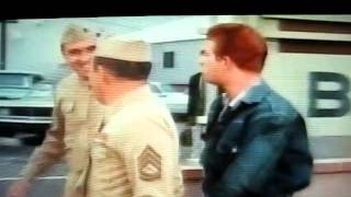 Gomer Pyle Sgt. Carter's New Car