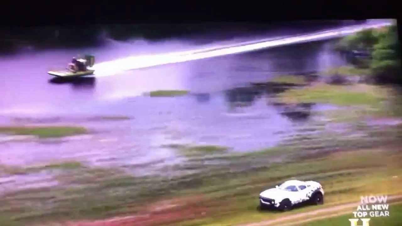 Airboat Vs Rally Car On Top Gear Youtube
