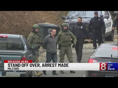Suspect Taken Into Custody In Milford Police Stand-off