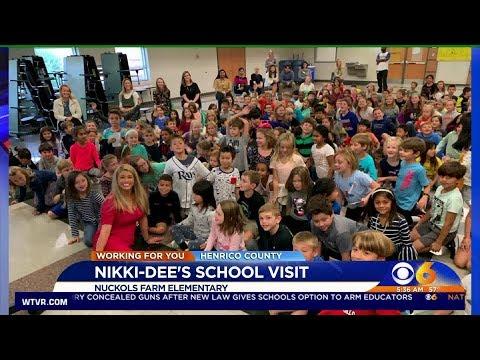 October 10, 2019 _ Nuckols Farm Elementary School Visit - 530 am