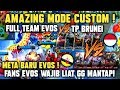UJICOBA CUSTOM ! EVOS VS TP BRUNEI AMAZING GILA EVOS SEMAKIN KOMPAK MOBILE LEGENDS Mp3