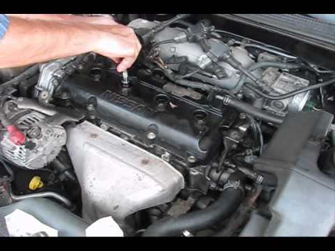 2002 Nissan Altima Misfire Start P0507 Bad IDLE part2 - YouTube
