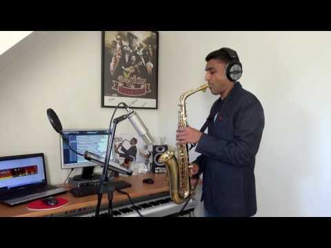 IT'S RAINING MEN - THE WEATHER GIRLS (Saxophone cover by Vinodj Sital)