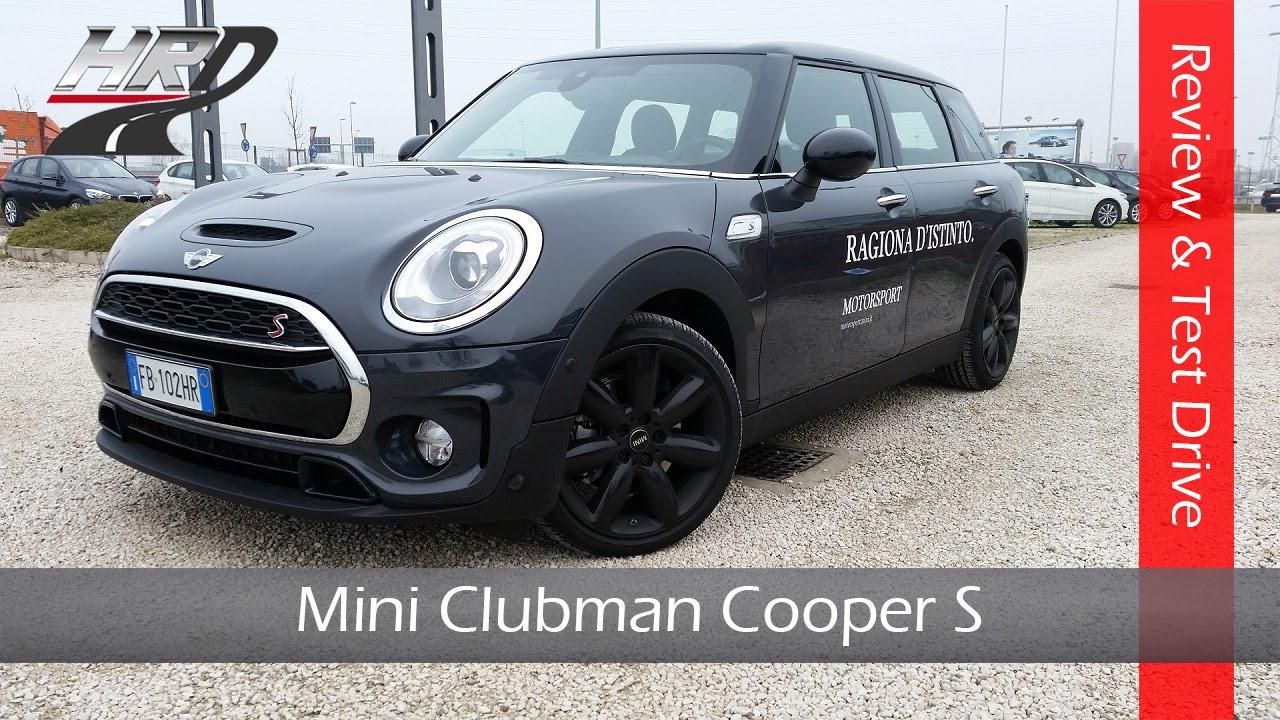 2016 Mini Clubman Cooper S 192 Hp Test Driveprova Su Strada