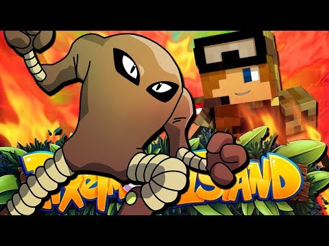HITMONLEE IS MY HERO!! - Pixelmon Island Season 2 Episode 13 (Minecraft Pokemon!)