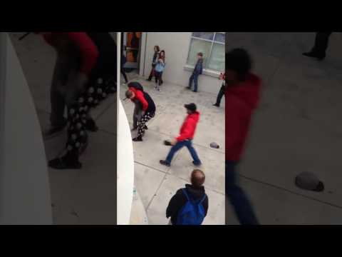 Williams Field High School Fight! Kid Gets Slammed To The Ground!!
