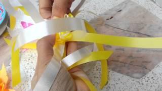 Repeat youtube video พับดอกกุหลาบโปรยทาน8เส้น(แบบที่1) by kwan
