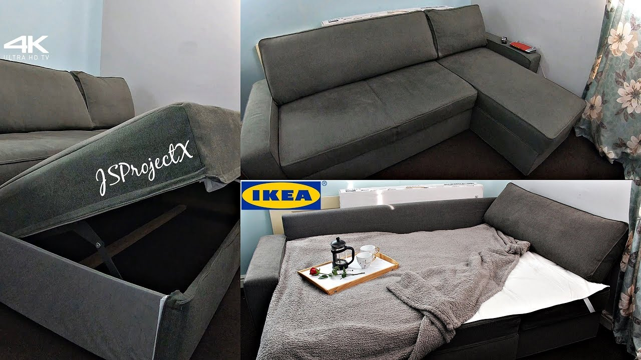 Sofa From Ikea Is Also A Bed Uhd