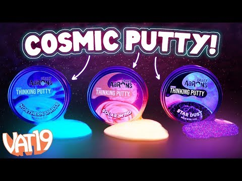 Glow in the Dark Cosmic Space Putty by Crazy Aaron