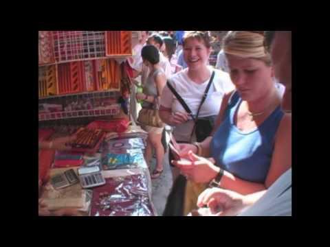 Becke barters, Shanghai Shopping