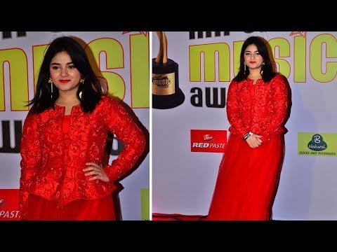 Zaira Wasim Attends Mirchi Music Awards 2018 | Bollywood Celebrities Interview 2018