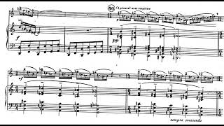 Henri Tomasi - Concerto for Alto Saxophone and Orchestra (1949) [Score-Video]