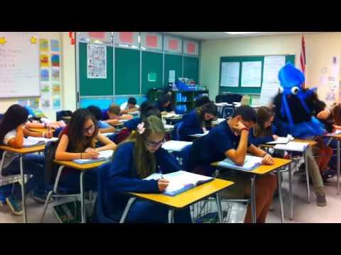 Arvida Middle School Math Class Harlem Shake - YouTube