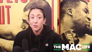 Jessica Penne Talks Fight Day Injury and Missing Weight at UFC Phoenix