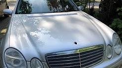 Mercedes-Benz W211 Bj-04 Motorhaube Stern Erneuern(renew bonnet star)@TUTORIAL@