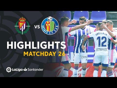Valladolid Getafe Goals And Highlights